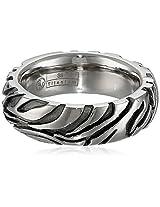 Edward Mirell 7.5mm Gray Titanium Safari Dome Ring, Size 5
