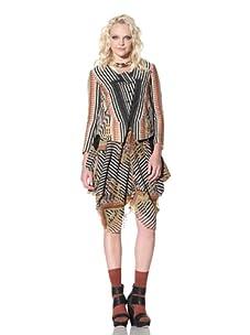 Gary Graham Women's Jacquard Jacket (Royal)
