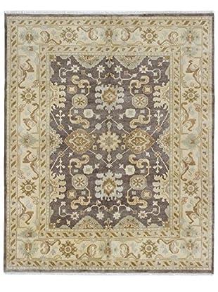 eCarpet Gallery Royal Ushak Rug, Dark Brown, 8' x 9'
