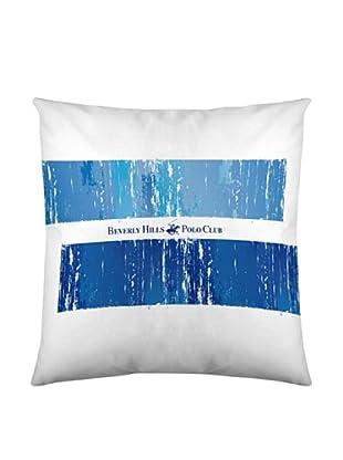 Beverly Hills Polo Club Funda De Cojín Nebraska (Azul / Celeste / Blanco)