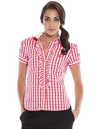 PEDRO DEL HIERRO Camisa Cuadros (rojo / blanco)