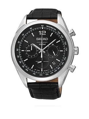 Seiko Reloj de cuarzo SSB097P1 Negro 45  mm