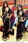 Bollywood Replica Chitrangada Singh Net Saree In Black Colour NC410