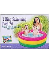 Suzi 3 Ring Swimming Pool 24 Inch