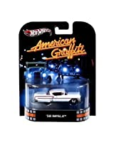 Hot Wheels Retro American Graffiti 1:64 Die Cast Car 58 Impala