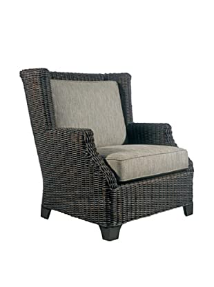 Padma's Plantation Outdoor Terrace Lounge Chair, Espresso