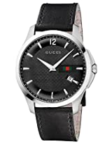 Gucci G Timeless Leather Mens Watch Ya126304