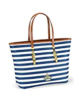 Oriflame Navy Tote Bag