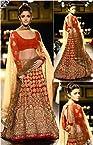 Aliya Bhatt Red Designer Lehenga Choli - 347