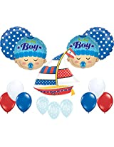 Nautical Baby Shower Balloon Decoration Kit