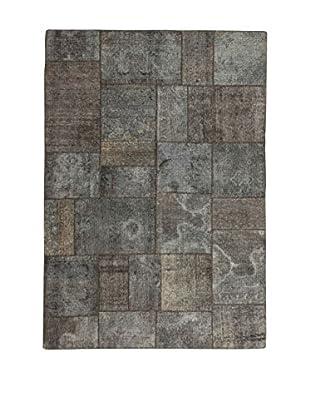Design Community By Loomier Teppich Revive Vintage Patch grau 168 x 240 cm