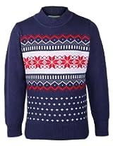 Babyhug Full Sleeves Sweater - Star Print