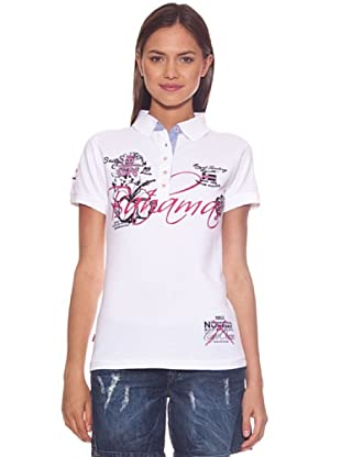 Geographical Norway Polo Karaibes (Blanco)