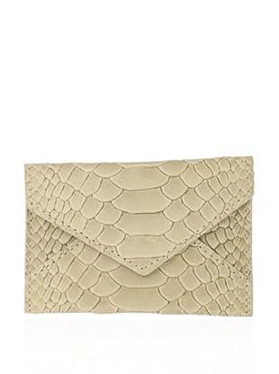 Graphic Image Women's Mini Envelope (Bone)