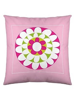 Robin Zingone Funda de Cojín Fresh Pink (Rosa / Blanco / Lila)