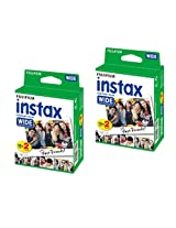 Fujifilm Instax Wide Film 2 Twin With Album (Total 40 Sheet With Album)