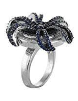 Define Jewellery Silver ring for Women (DFLR0131 )