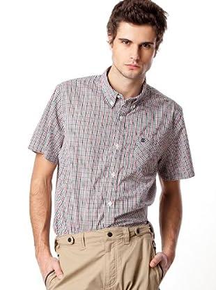 Timberland Camisa Cuadros (Blanco / Rojo / Negro / Verde)