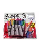 Sharpie Original Fine Point 24 + 1 Bonus Electro Pop