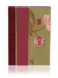 Molly West Garnet Bud- Lined Journal, Garnet