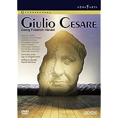DVD ヘンデル:歌劇≪ジュリオ・チェーザレ≫全曲の商品写真