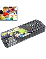 Generic Kids Multi Purpose Pencil Pen Case Storage Box Sharpener With Calculator - 45