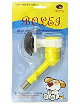 Uxcell Pet Cage Mount Drinking Feeding Water Bottle Head, Yellow