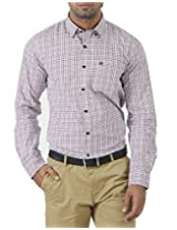London Fog Men's Casual Shirt (8907174006765_Multicolor_Medium)