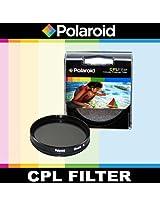 Polaroid Optics CPL Circular Polarizer Filter For The Nikon D40, D40x, D50, D60, D70, D80, D90, D100, D200, D300, D3, D3S, D700, D3000, D5000, D3100, D3200, D3300, D7000, D5100, D4, D4s, D800, D800E, D600, D610, D7100, D5200, D5300 Digital SLR Cameras Which Have The Nikon (28-300mm, 16-35mm, 10-24mm, 12-24mm, 17-55mm, 80-200mm, 80-400mm, 24-120mm, 70-200mm, 24mm, 24-70mm, 85mm f/1.4D, 24-120mm F4) Lens