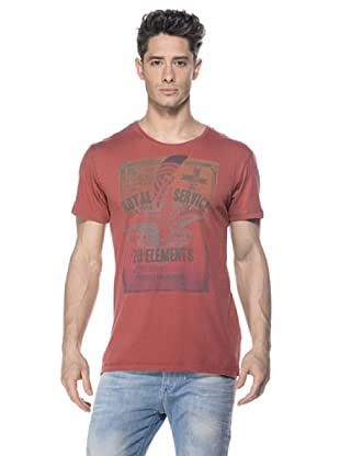 Zu-Elements Camiseta Columban (Rojo Lavado)