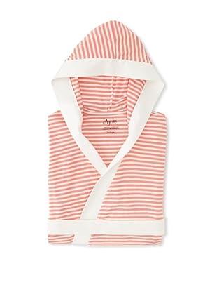 Ayrika-Nine Space Stripe Knitted Bathrobe