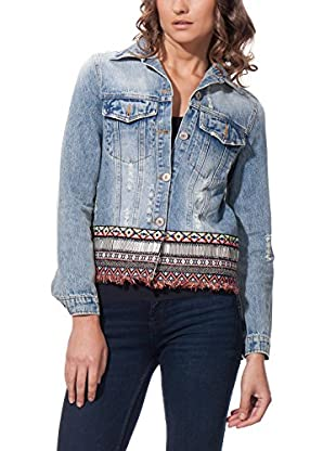 JUBYLEE Jacke Denim With Ethnic Detail