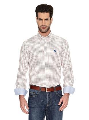 Toro Camisa Cuadros Casual (Marrón)