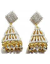 Shingar Ksvk Jewels Cubic Zirconia Earrings Danglers For Women (9087-ead-j)