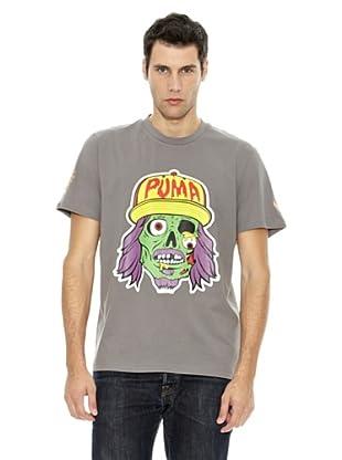 Puma Camiseta Skull (Gris Acero)