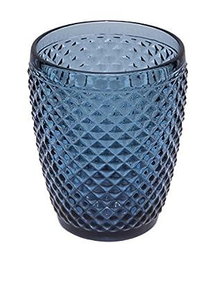 Novità Home Glas 4er Set Gaia blau