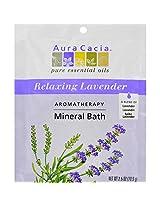 Aura Cacia Aromatherapy Mineral Bath Lavender Harvest - 2.5 oz - Case of 6 Aura Cacia Aromatherapy