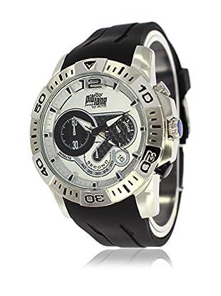 Pit Lane Uhr mit Miyota Uhrwerk Pl-1011-2 schwarz 45 mm