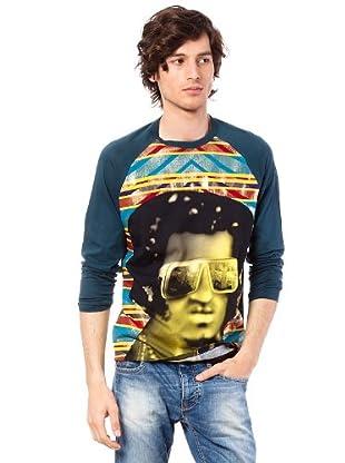 Custo Camiseta Wert (Azul Petróleo)