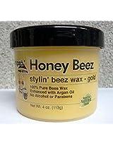 Ampro Honey Beez Stylin' Beez Wax Gold 4 Oz