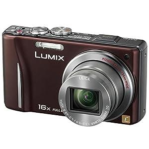Panasonic Lumix DMC-TZ20 Digital Camera-Brown