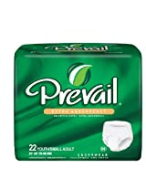 Prevail Disposable Protective Underwear - Small (88 Count)