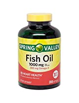 Spring Valley Fish Oil Omega 3 - 200 Softgels