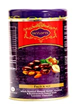 Skylofts Fruit N Nut Chocolate Tin Pack - Rich Dry Fruit Collection