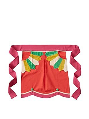 Anna Maria Horner Holiday House Half Apron, Holly Berry