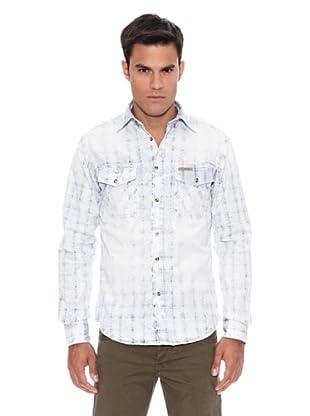 Pepe Jeans London Camisa Booker 2 (Azul Índigo)