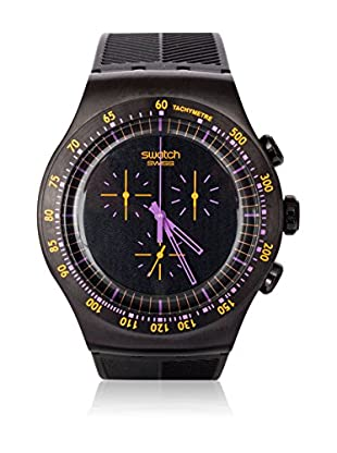 Swatch Quarzuhr Man PURPLE IN DARK YOB102 47.0 mm