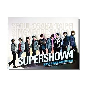 『Super Junior - Super Show 4 コンサート写真集』