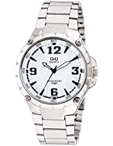 Q&Q Regular Analog White Dial Men's Watch - Q960J204Y