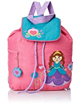Stephen Joseph Quilted Backpack, Princess